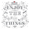 """Enjoy the Little Things"" Greeting Card, ID-Incognito Distribution, Putti Fine Furnishings"
