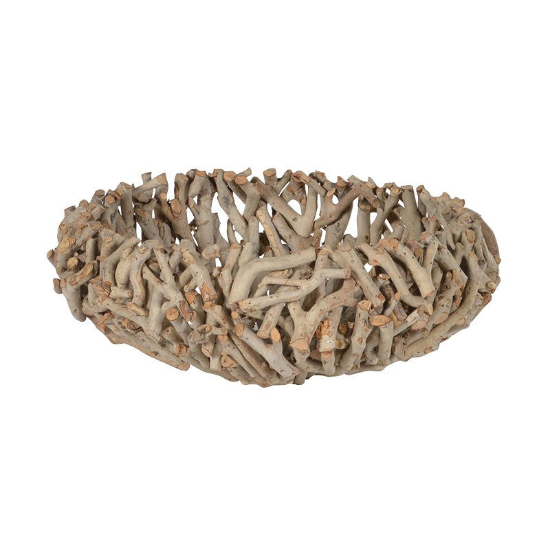 Small Driftwood Bowl-Accessories-Coach House-Putti Fine Furnishings