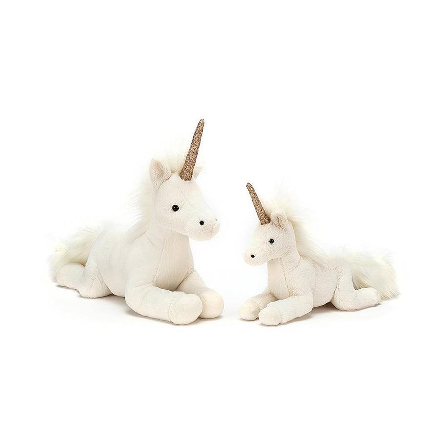 "Jellycat ""Luna"" White Unicorn"