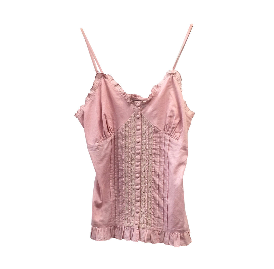 "Summer of Love ""Lava"" Pink Camisole, SOL-Summer of Love, Putti Fine Furnishings"