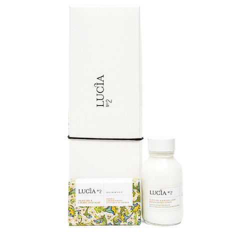 Lucia - Olive Oil & Laurel Leaf Body Lotion & Soap