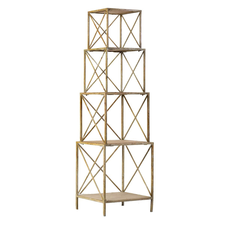 Cubic Four Layer Shelf
