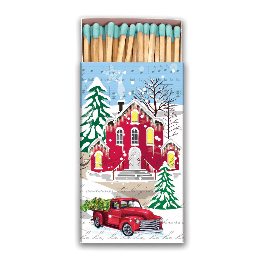 Deck the Halls Matchbox