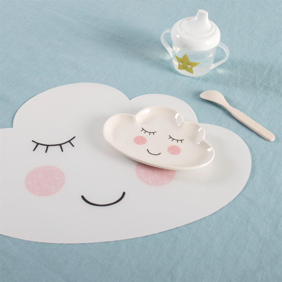 Sweet Dreams Cloud Vinyl Placemat