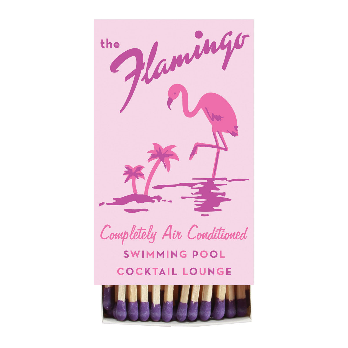 """Flamingo Hotel"" Retro Cocktail Bar Matches"