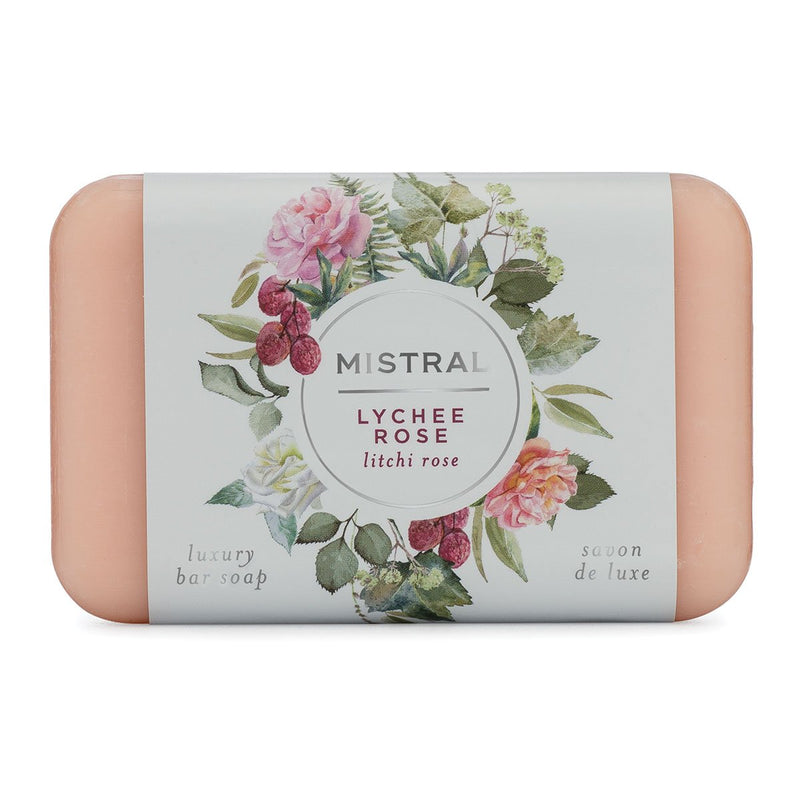 Mistral Classic French Soap - Lychee Rose