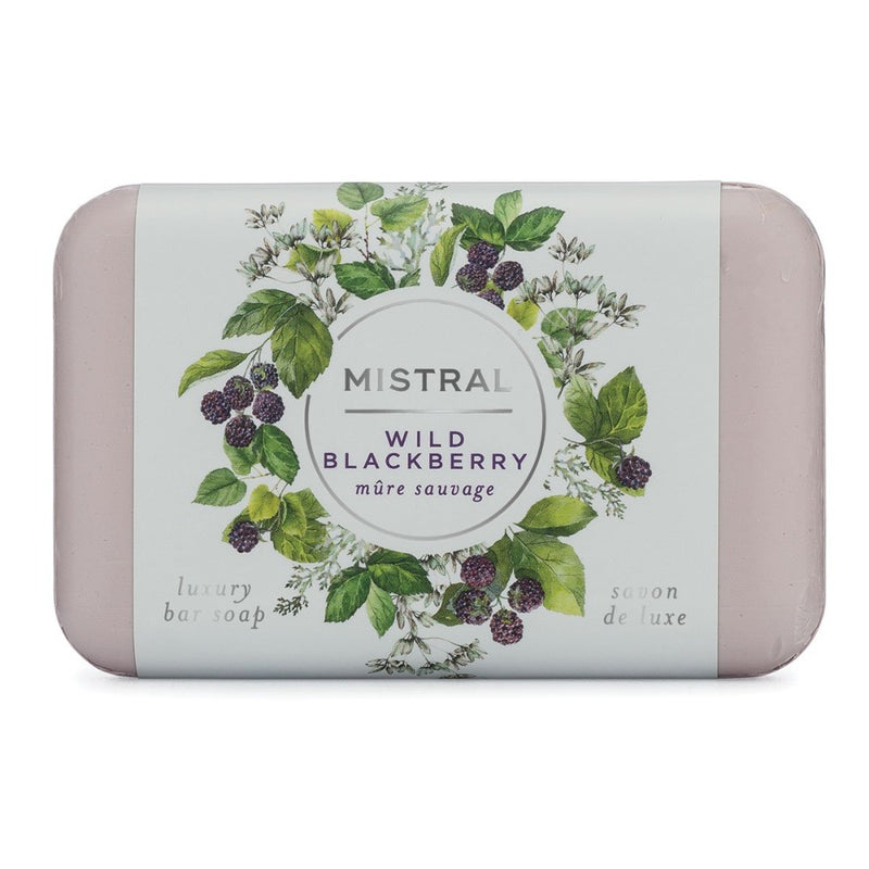 Mistral Classic French Soap - Wild Blackberry | Putti Toronto Canada