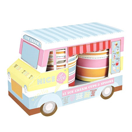 "Meri Meri ""Ice Cream Party"" Ice Cream Van, MM-Meri Meri UK, Putti Fine Furnishings"