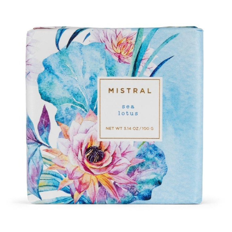 Mistral Floral Collection Soap - Sea Lotus | Putti Fine Furnishings