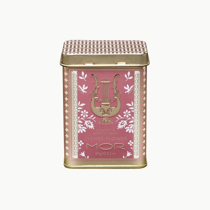 Mor Little Luxuries Soapette - Lychee Flower -  Personal Fragrance - Putti Fine Furnishings - Putti Fine Furnishings Toronto Canada - 1