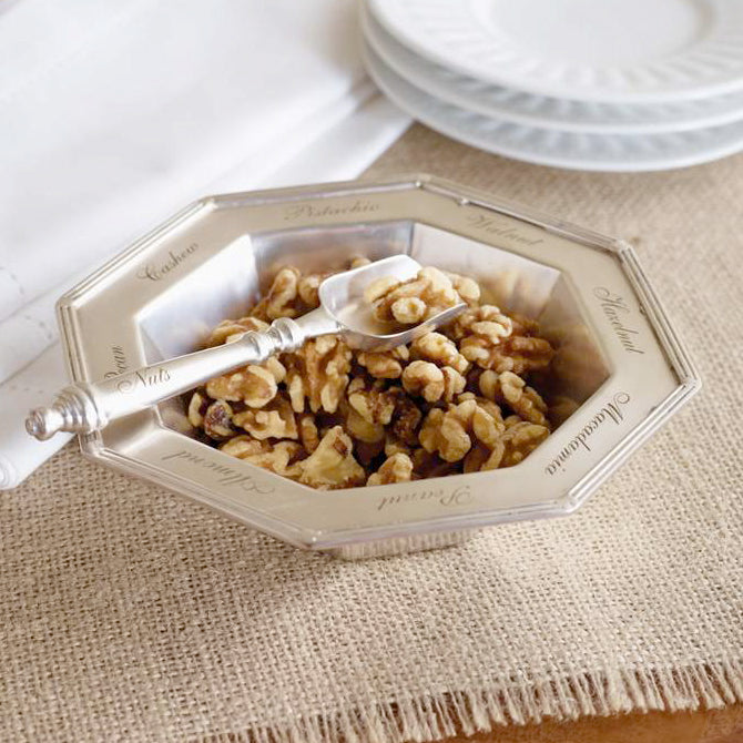 Nut Dish with Spoon