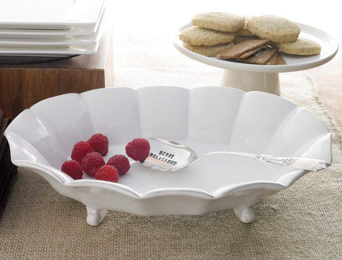"""Berry Delicious"" Bowl with Serving Spoon-Tableware-MP-Mud Pie-Putti Fine Furnishings"