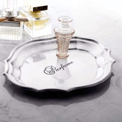 Parfume Vanity Tray -  Vanity Accessories - Mud Pie - Putti Fine Furnishings Toronto Canada - 1