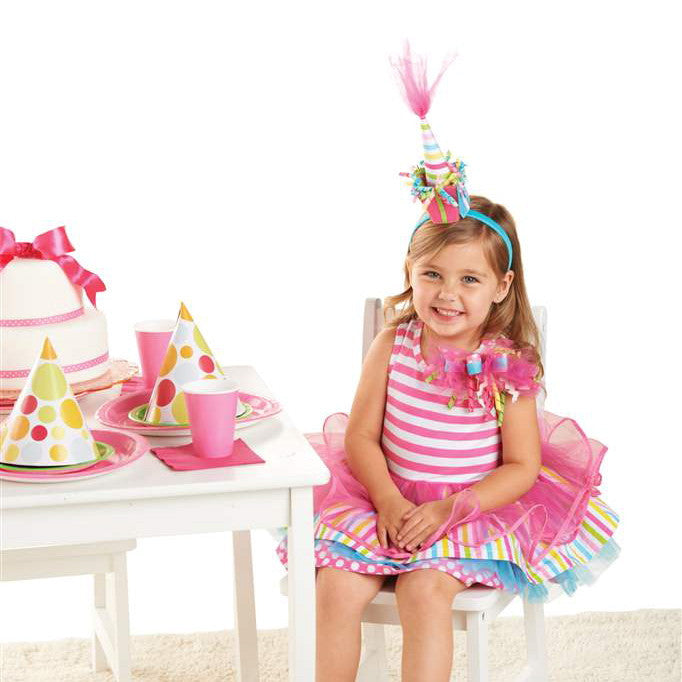 Striped 2nd Birthday Girl Dress, MP-Mud Pie, Putti Fine Furnishings