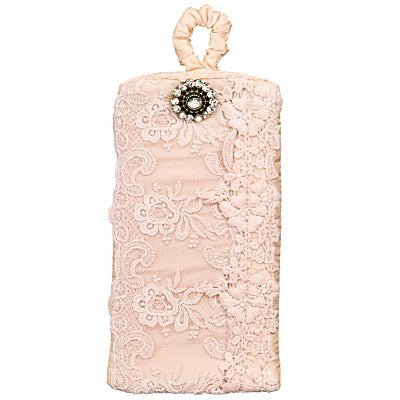 Miss Rose Sister Violet - Lace Eyeglass Case - Pink Personal Accessories - Miss Rose Sister Violet - Putti Fine Furnishings Toronto Canada - 1