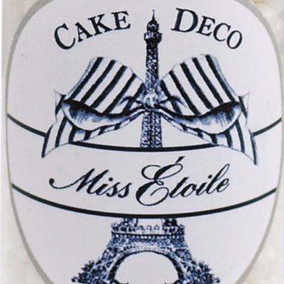 Miss Etoile  Sugar Pearls Cake Decoration - Cream, Miss Etoile, Putti Fine Furnishings