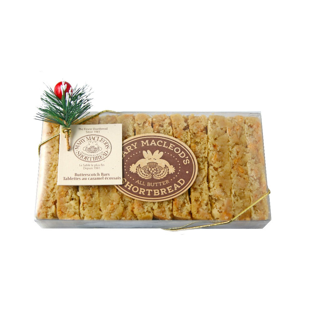 Mary Mcleod's Butterscotch Shortbread Bar 12pc | Putti Fine Furnishings Canada