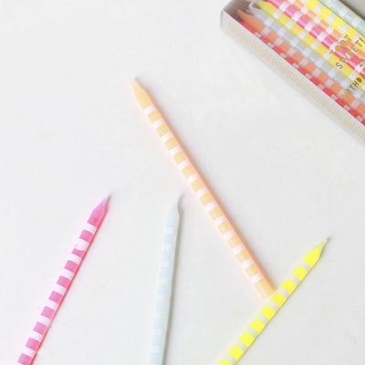 Meri Meri Pastel Birthday Candles -  Party Supplies - Meri Meri UK - Putti Fine Furnishings Toronto Canada - 4
