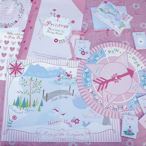 Meri Meri Princess Party Pack -  Party Decorations - Meri Meri UK - Putti Fine Furnishings Toronto Canada - 2