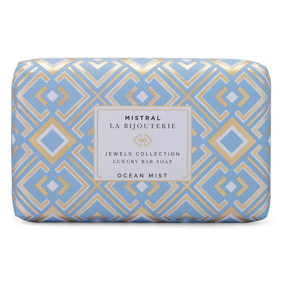 Mistral Les Bijouterie Jewels Collection French Soap - Ocean Mist - Putti