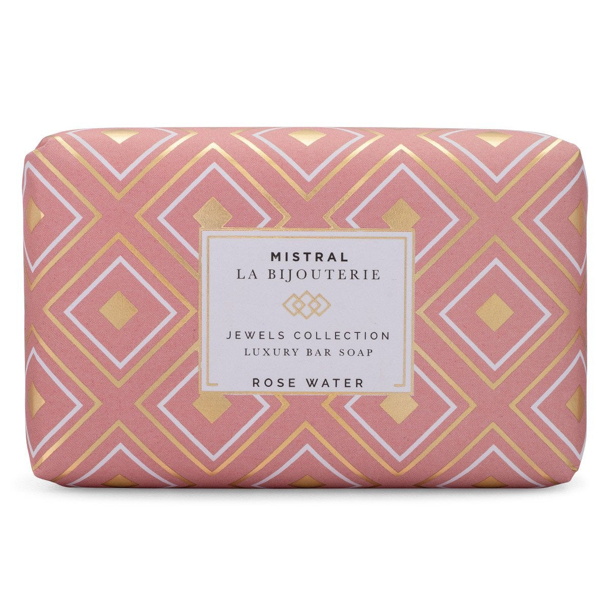 Mistral Les Bijouterie French Soap - Rose Water - Putti