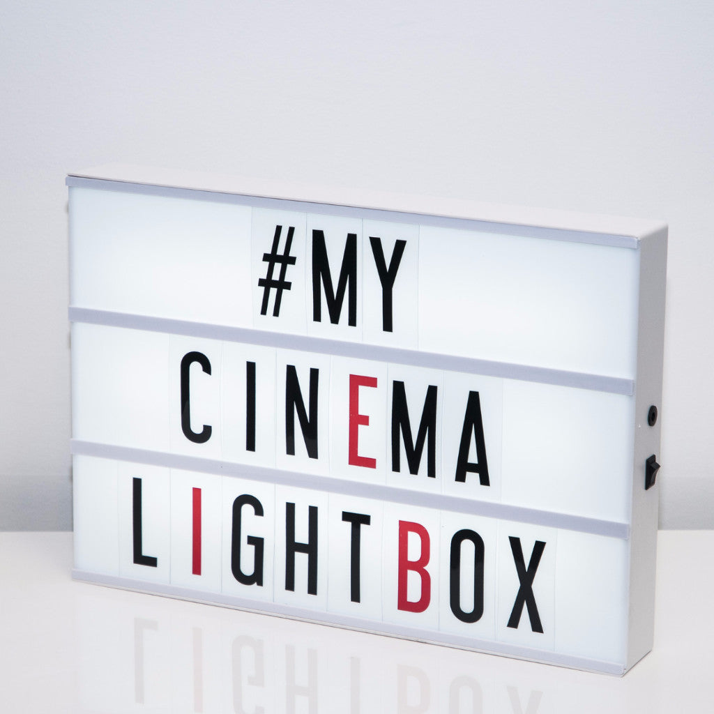 My Cinema Light Box - Large -  Accessories - One11 Imports - Putti Fine Furnishings Toronto Canada - 1