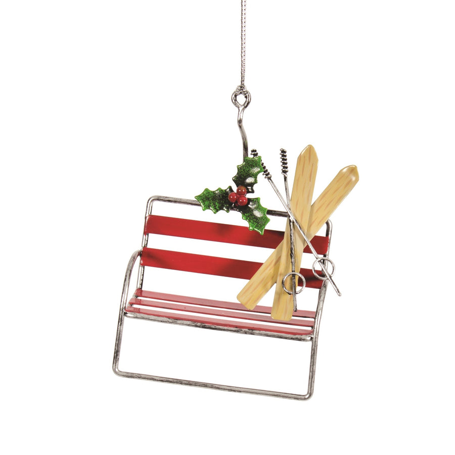 Kurt Adler Ski Lift Chair Ornament