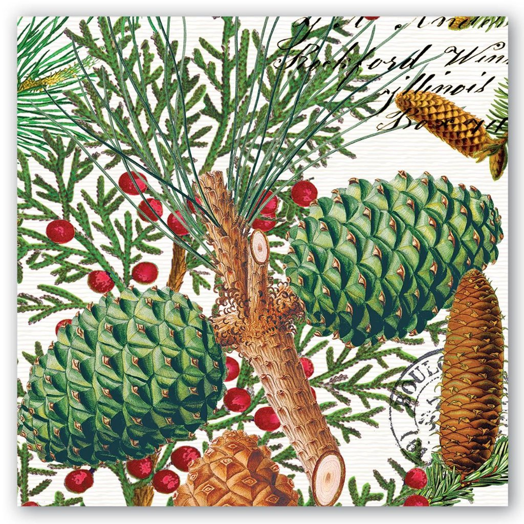Michel Design Works Spruce Napkins Luncheon -Putti fine Furnishings