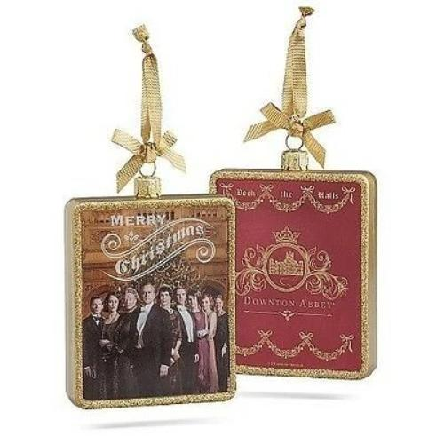 "Kurt Adler Downton Abbey® ""Merry Christmas"" Glass Ornament  