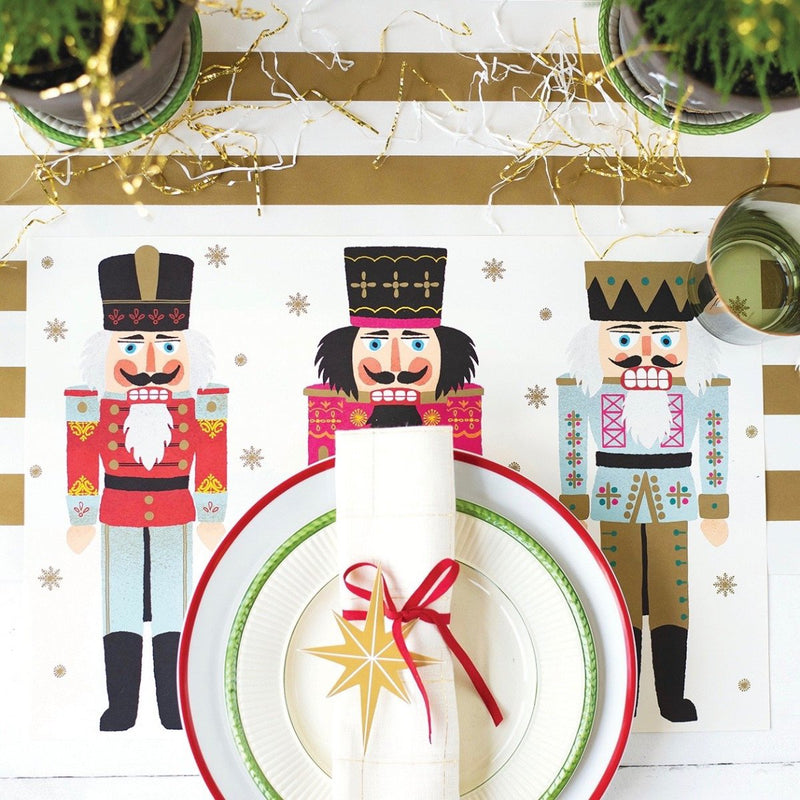 Hester & Cook Nutcrackers Paper Placemats