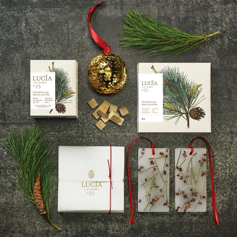 Lucia Les Saison Pine Scented Wax Tablets