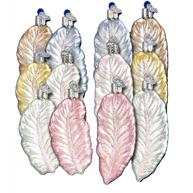 Old World Christmas Pastel Feathers -  Christmas - OWC-Old World Christmas - Putti Fine Furnishings Toronto Canada