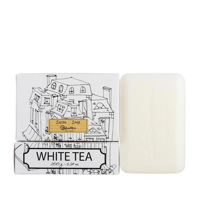 Lothantique White Tea Soap 200g | Putti Fine Furnishings Canada