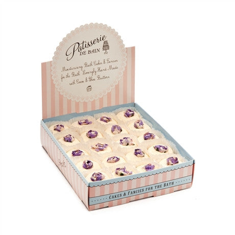 """Patisserie de Bain"" Individual Bath Melt Lavender Lemongrass - Bulk, R&C-Rose & Co, Putti Fine Furnishings"