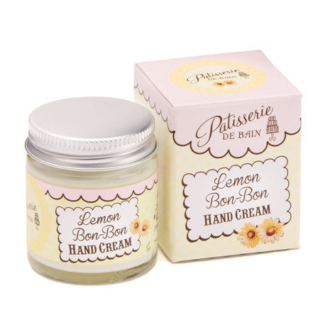 """Patisseries de Bain"" Lemon Bon Bon Hand Cream, Rose & Co, Putti Fine Furnishings"