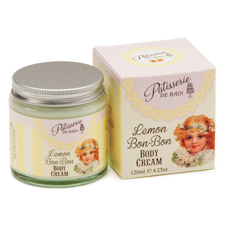 """Patisseries de Bain"" Lemon Bon Bon Body Cream, Rose & Co, Putti Fine Furnishings"