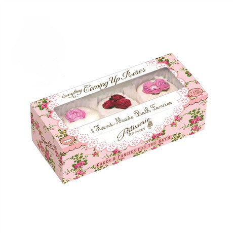 """Patisseries de Bain"" Coming up Roses Bath Fancies, Rose & Co, Putti Fine Furnishings"