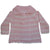 Pink and White Striped Pram Coat, PC-Powell Craft Uk, Putti Fine Furnishings