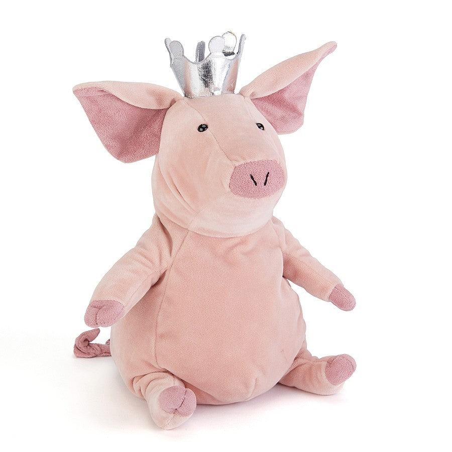 "Jellycat ""Petronella the Pig Princess"" Soft Toy, JC-Jellycat UK, Putti Fine Furnishings"