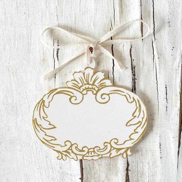 Hester & Cook Gilded Frame Gift Tags