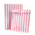 Pink & White Stripe Treat Bags, TT-Talking Tables, Putti Fine Furnishings