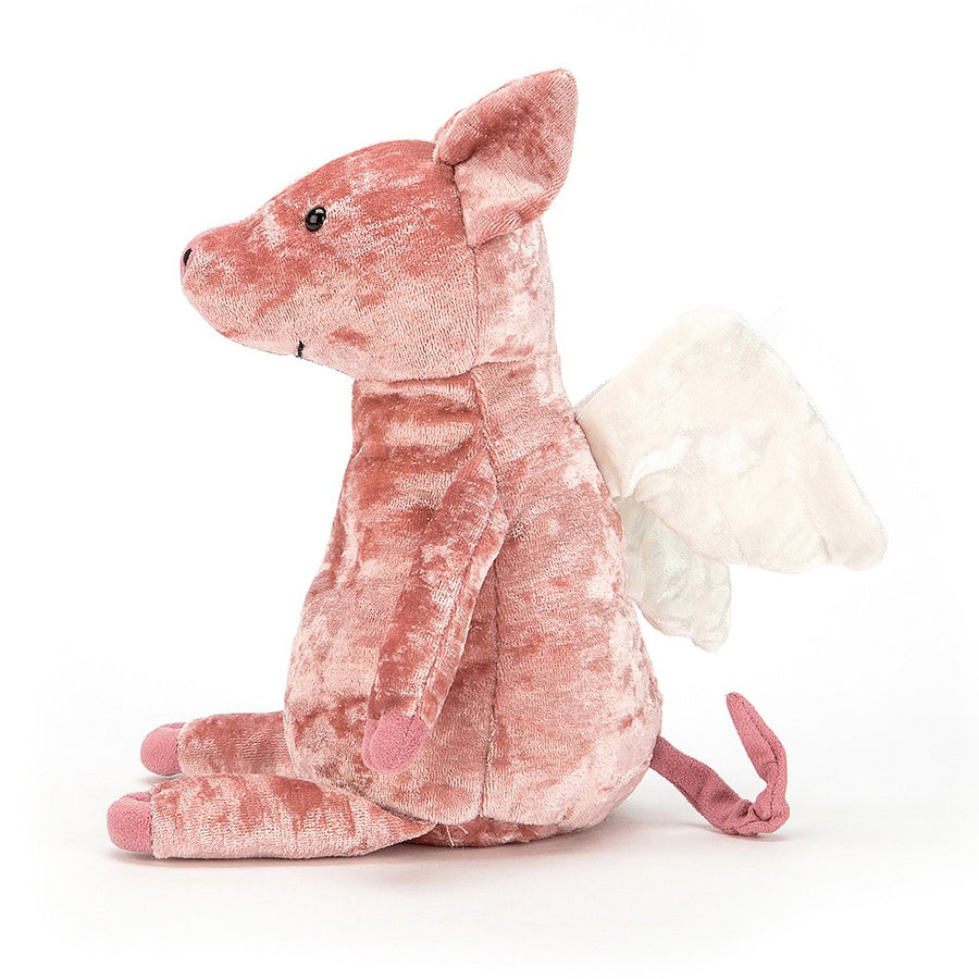 "Jellycat ""Piggy Might Fly"" Soft Toy"
