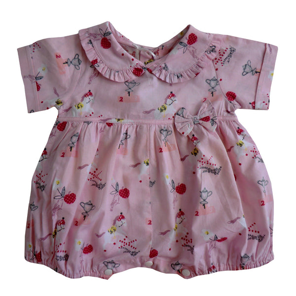 """Pony"" Romper-Children's Clothing-PC-Powell Craft Uk-Age 0-6 Months ( Special Order 2 Weeks )-Putti Fine Furnishings"