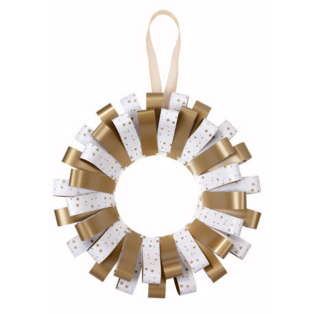 Party Porcelain Gold Paper Chains-Paper Plates-TT-Talking Tables-Putti Fine Furnishings