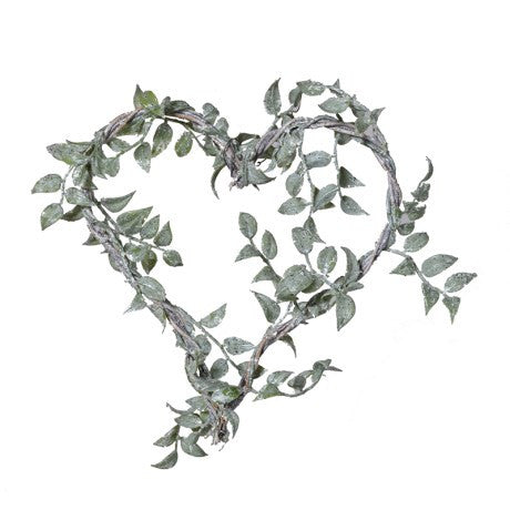 Frosted Boxwood Heart