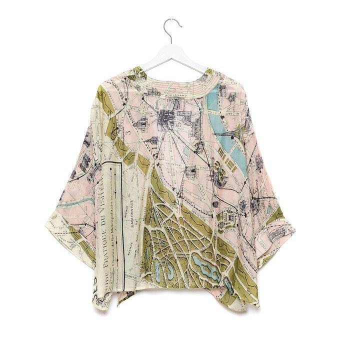 One Hundred Stars - Paris Short Kimono
