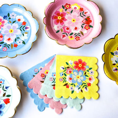 "Meri Meri ""Kashmiri"" Paper Plates - Large, MM-Meri Meri UK, Putti Fine Furnishings"
