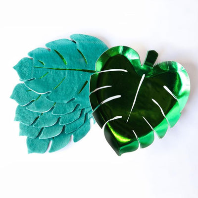 Meri Meri Palm Leaf Paper Napkins - Large
