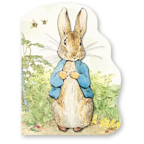 Peter Rabbit Shaped Board Book -  Book - Estelle Gifts - Putti Fine Furnishings Toronto Canada