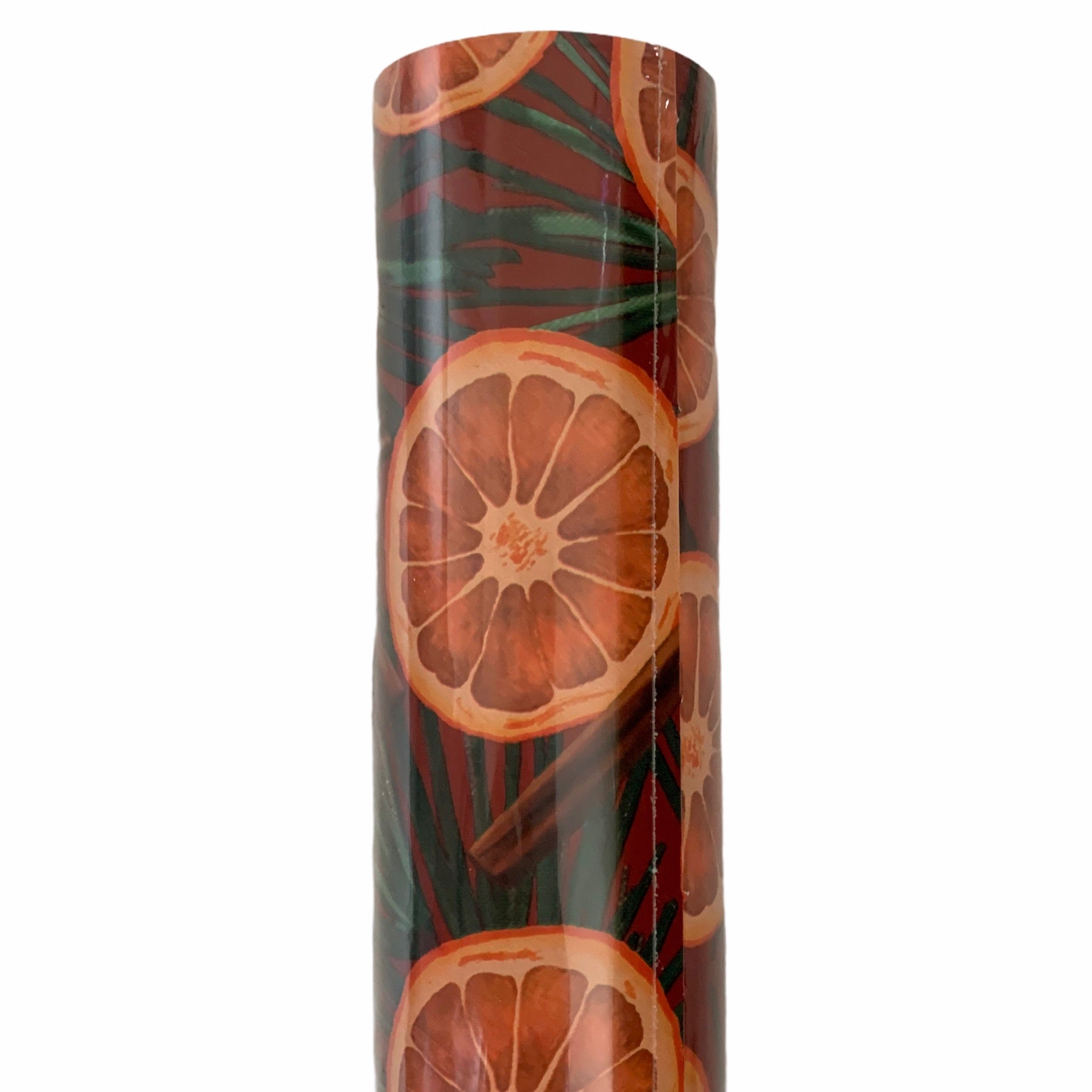 Citrus & Spice Wrapping Paper Roll